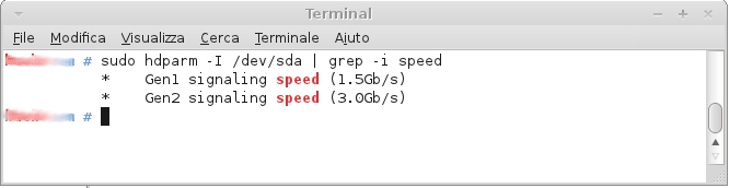 Check Sata speed